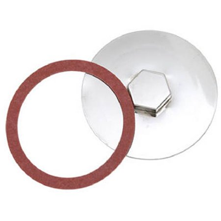 Drum Trap Cover - 4.37 in. Master Plumber Drum Trap Cover