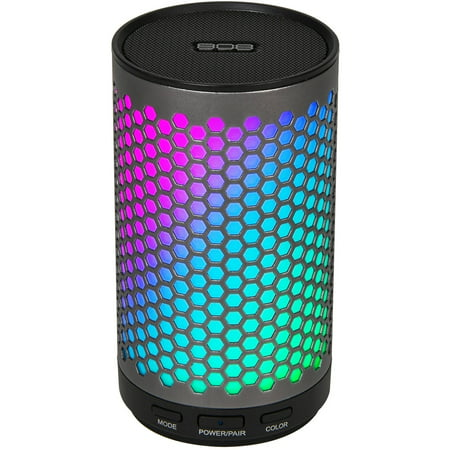 808 CANZ GLO Bluetooth Wireless Speaker, Gunmetal (I Twist Bluetooth Speaker)