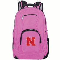 NCAA Nebraska Cornhuskers Pink Premium Laptop Backpack