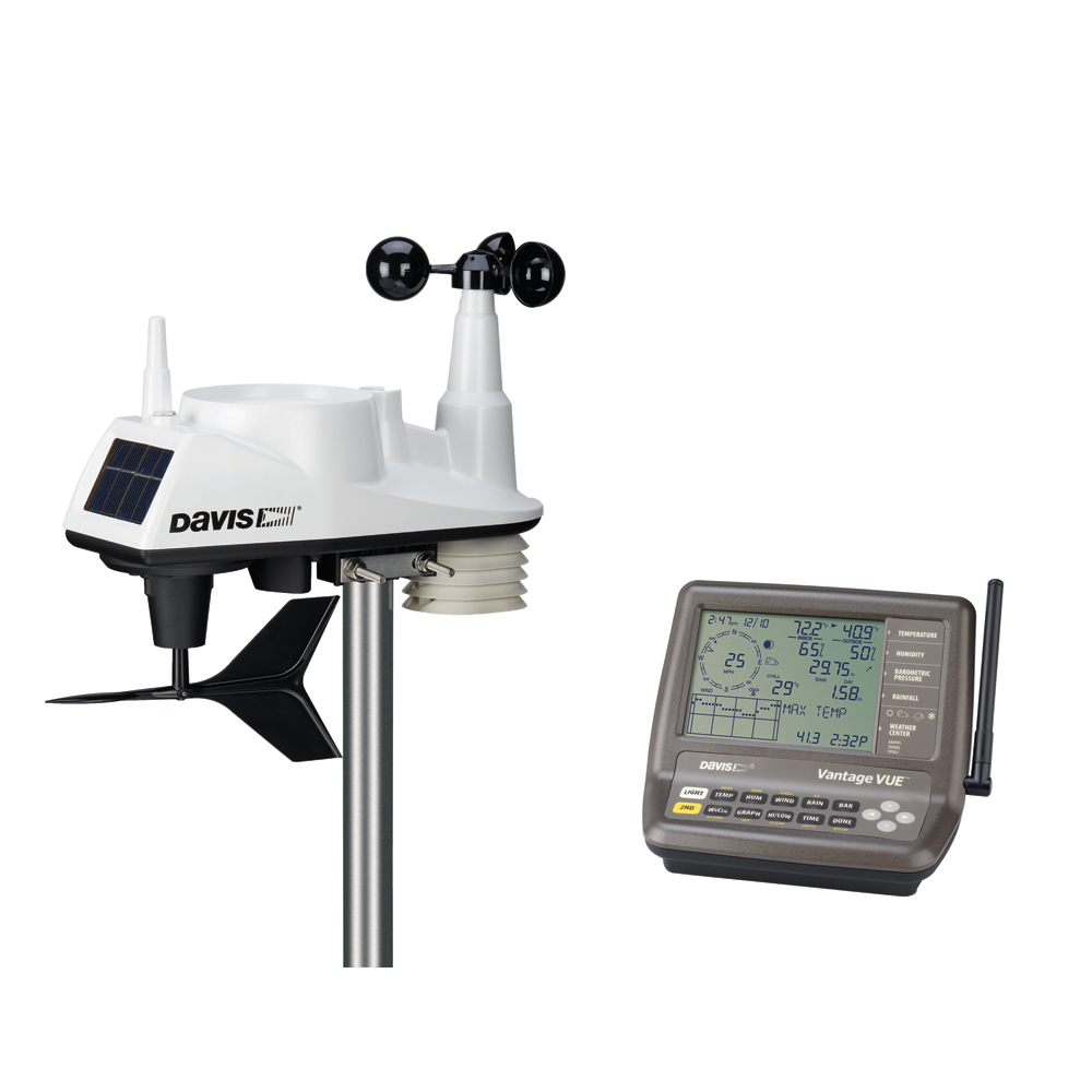 The Amazing Quality Davis Vantage Vue Wireless Weather Station by