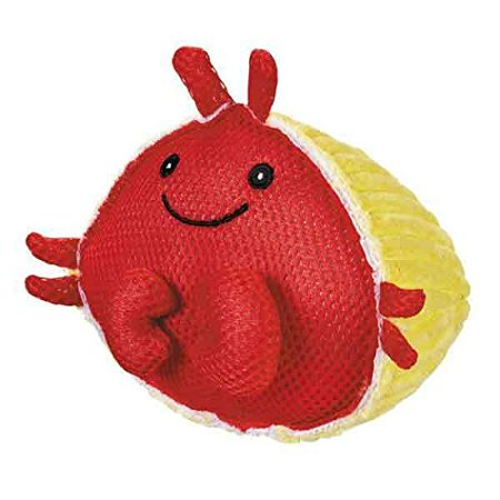 Aquadudes Dog Toy Ocean Friends Choose Creature or Set of Pufferfish Seal & Crab(Hermit Crab)