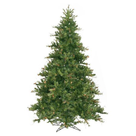 Mixed Pine Artificial Tree (Vickerman 9' Mixed Country Pine Artificial Christmas Tree, Unlit )