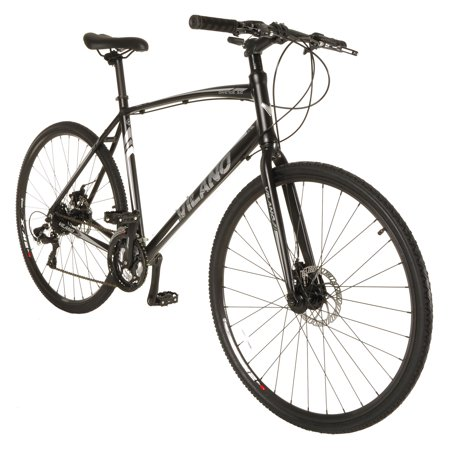 Bicycle Hybrid (Vilano Diverse 3.0 Performance Hybrid Road Bike 24 Speed Shimano Disc)