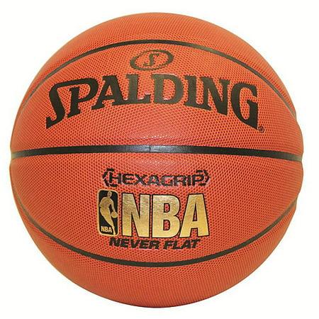 Spalding Hexagrip Never Flat Composite Basketball