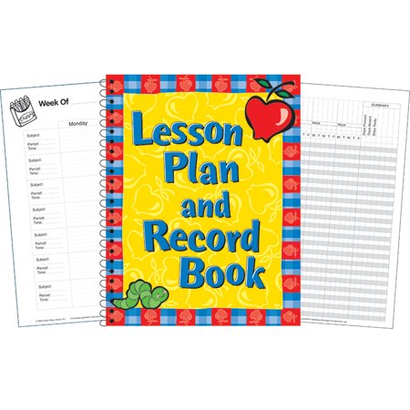 Lesson Planbook (LESSON PLAN AND RECORD BOOK)