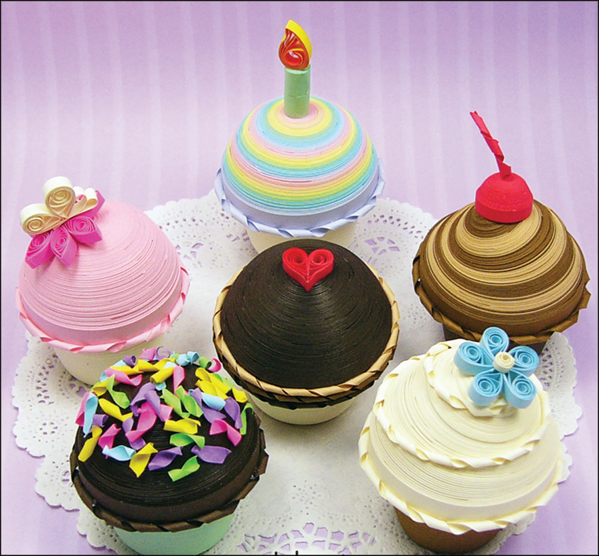 Quilled Creations Quilling Kit, Cupcake Treasure Boxes