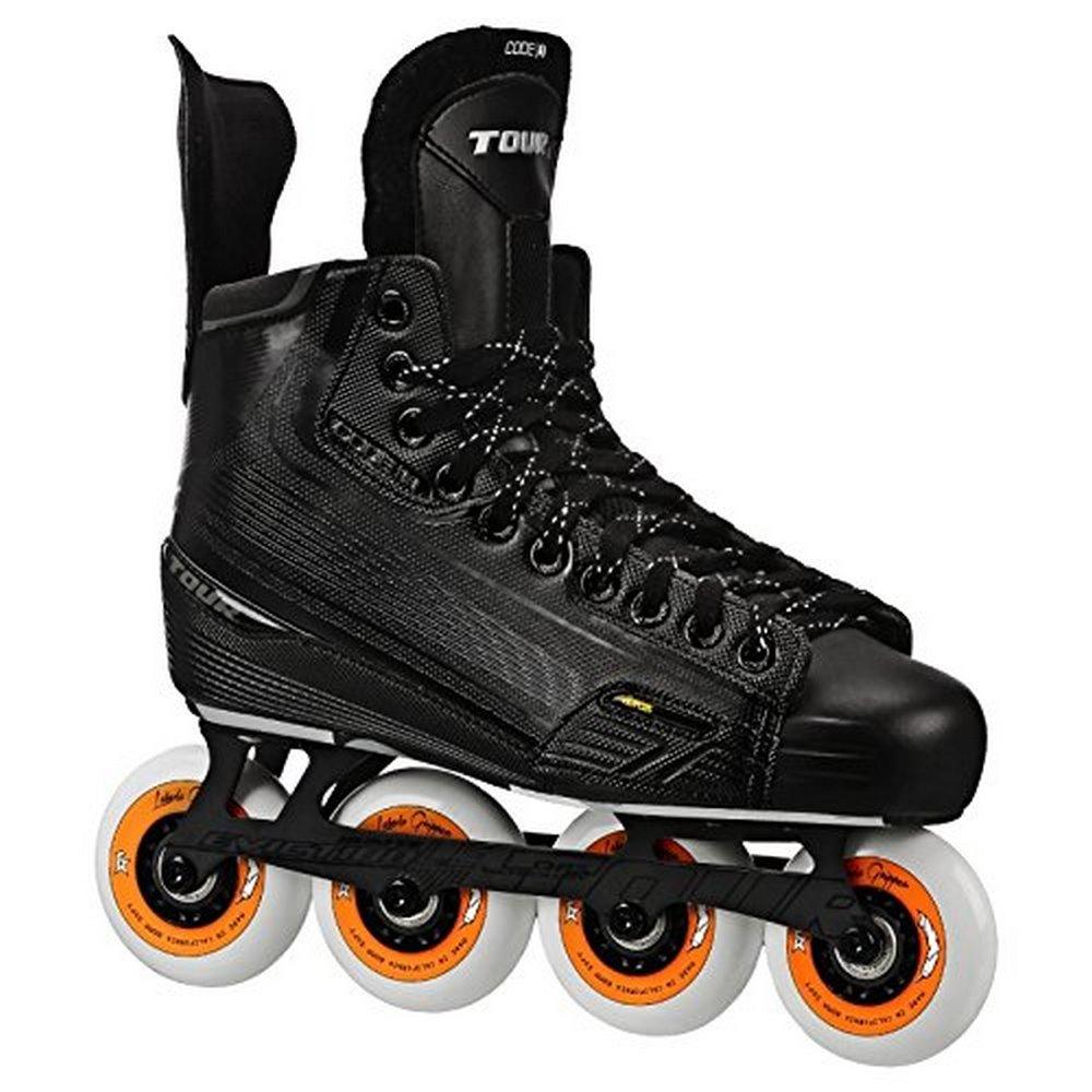 Tour Hockey Mens CODE 7 Sr Inline Hockey Skate, Black