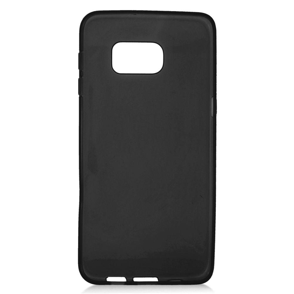 quality design 42f70 9ebbd Insten Rubber Skin Gel Case For Samsung Galaxy S6 Edge Plus - Black