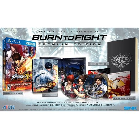 King Of Fighters XIV Burn (PS4)
