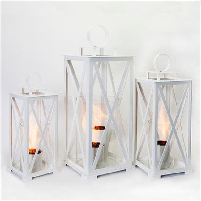 North Cape FF-NAS-01-01 17 x 9.5 in. Nashville Lantern in Garden