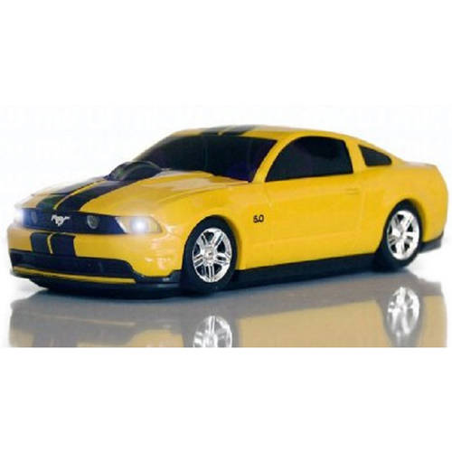 Road Mice Optical Computer Car Mouse - Optical - Wireless - Radio Frequency - Yellow - 1750 Dpi - Scroll Wheel - Chevrolet Corvette (hp-11chczyxa)