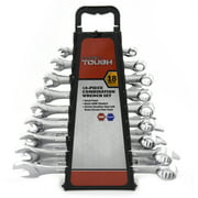 18-Piece Combination Wrench Set