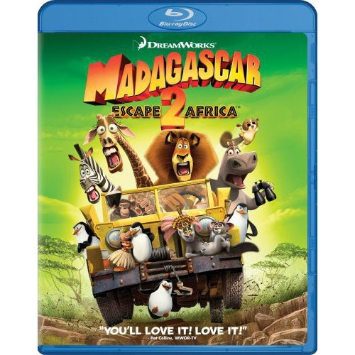 Madagascar: Escape 2 Africa (Blu-ray) (With BD-Live) (Widescreen)