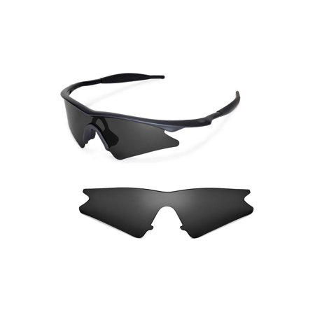 - Walleva Black Replacement Lenses For Oakley M Frame Sweep Sunglasses