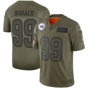 Aaron Donald Los Angeles Rams Nike Youth 2019 Salute to Service Game Jersey - Olive