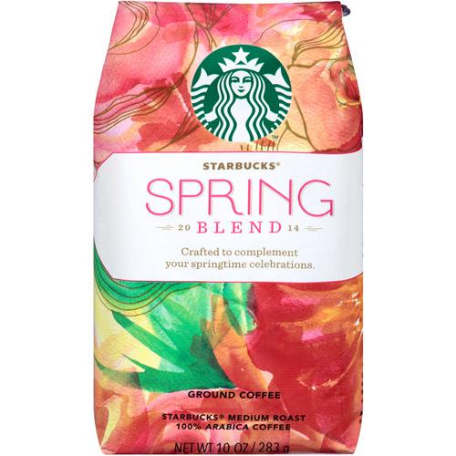Starbucks Spring Blend Ground Coffee, 10 oz