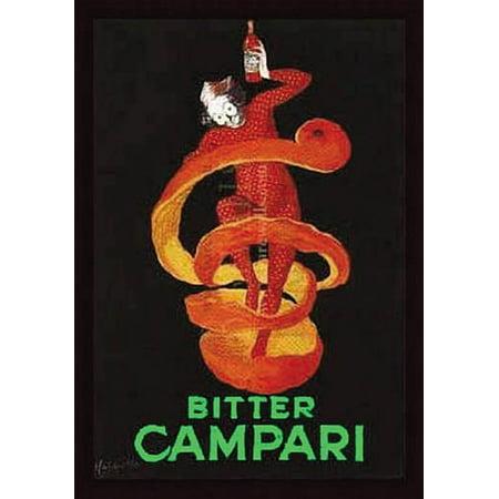 Bitter Campari Vintage Ad Poster By Leonetto Cappiello  8  X 10