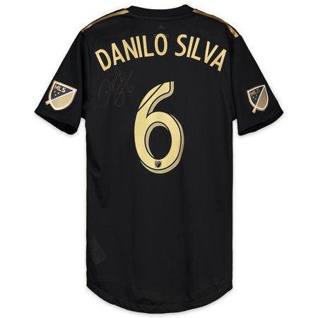 new arrival a6ef1 ff3ba Danilo Silva LAFC Autographed Match-Used Black #6 Jersey vs. Houston Dynamo  on October 12, 2018 - Fanatics Authentic Certified - Walmart.com