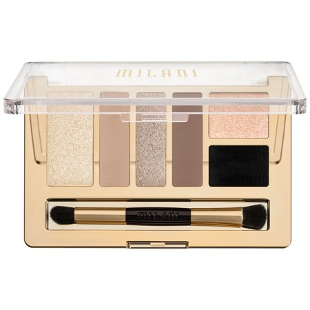 Milani Everyday Eyes Eyeshadow Collection, 01 Must Have Naturals, 0.21 oz (Natural Eye Makeup)