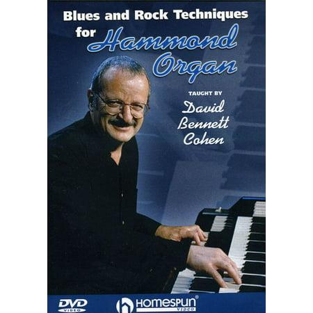 Rock Organ Technique - Blues and Rock Techniques for Hammond Organ (DVD)