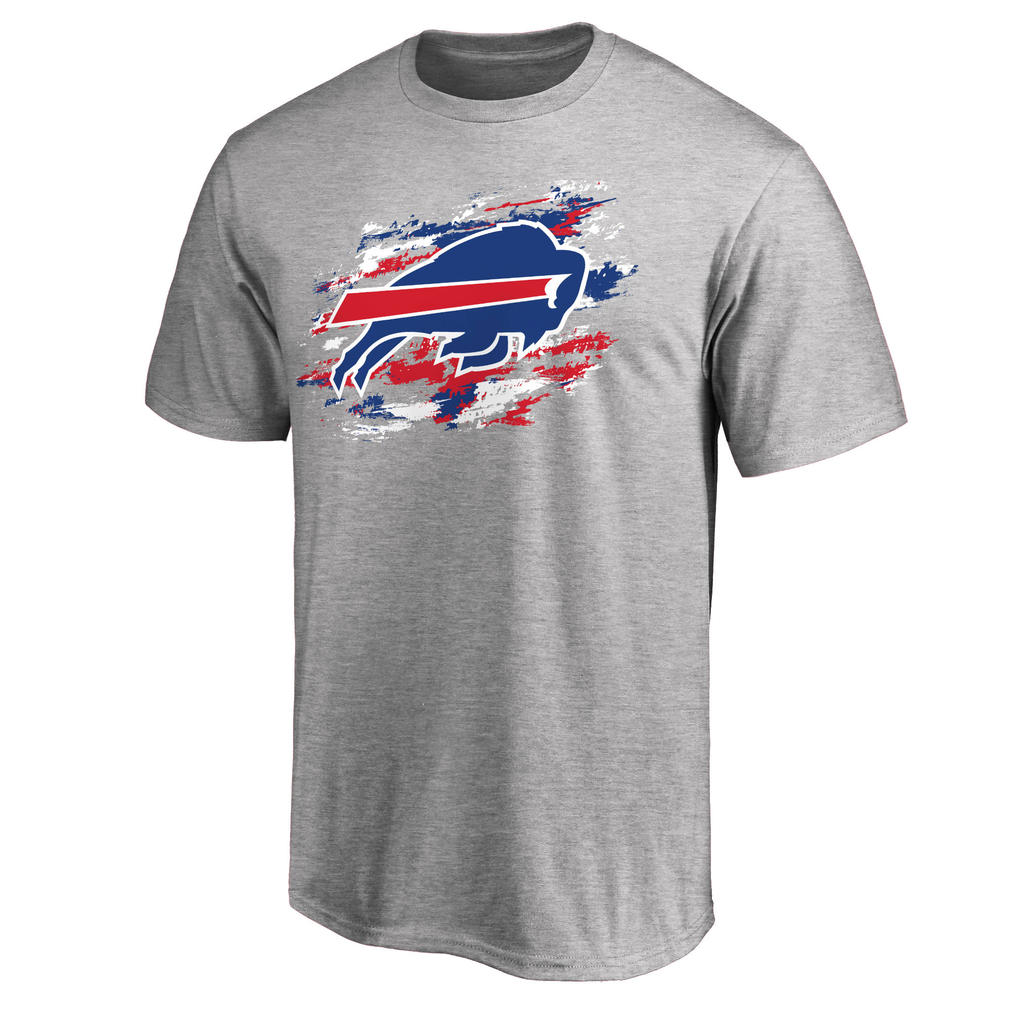 Buffalo Bills NFL Pro Line True Color T-Shirt - Heathered Gray