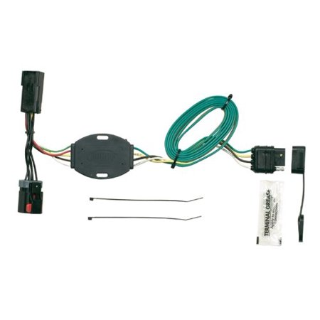 Hopkins Plug-In Simple 42225 T Connector Wiring Kit For Dodge Minivans, (Brake Wiring Connector)