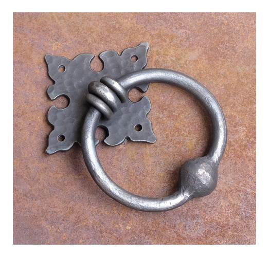 5.13 in. Iron Door Knocker