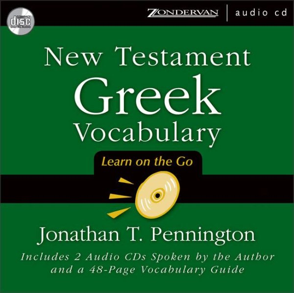 New Testament Greek Vocabulary : Learn on the Go