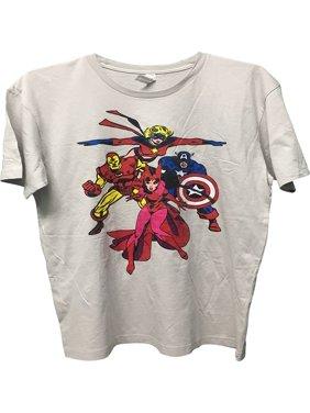 6bf87740bb3c Product Image Iron Man Captain America Scarlet Witch Men's T-Shirt Tan  Medium