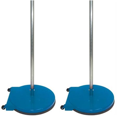 - Olympia Sports GY314M 24 in. Dome Base Game Standards with Wheels - Blue