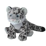 Cuddlekins Snow Leopard Cub Plush Stuffed Animal by Wild Republic, Kid Gifts, Zoo Animals, 12 Inches