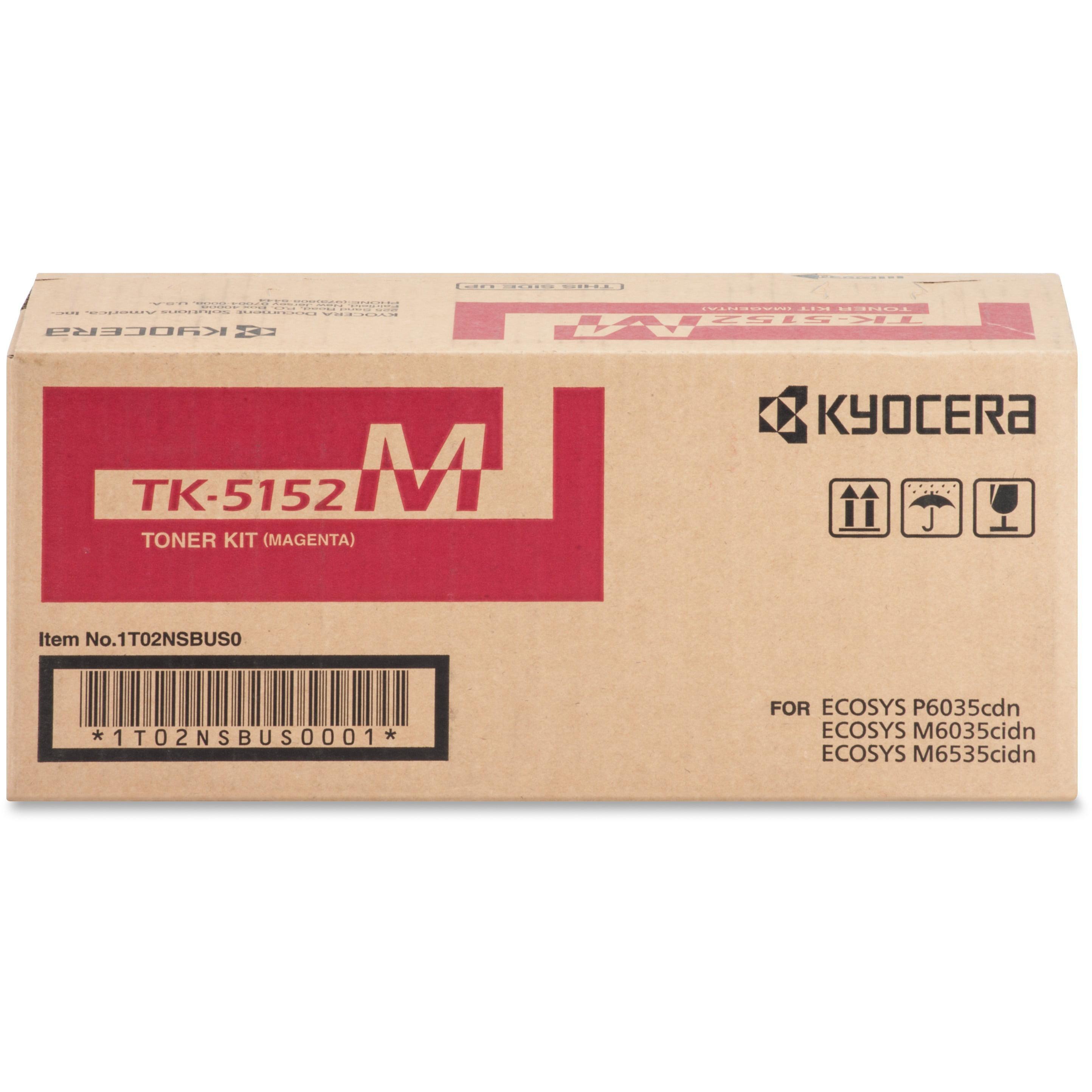 Kyocera, KYOTK5152M, TK-5152 Toner Cartridge, 1 Each