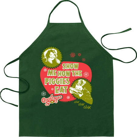 Image of A Christmas Story Show Me How The Piggies Eat Apron