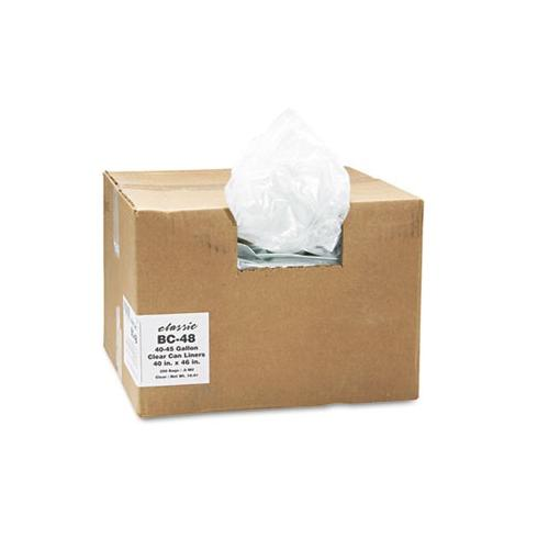 Classic Clear Low-Density Can Liners WBI404616C