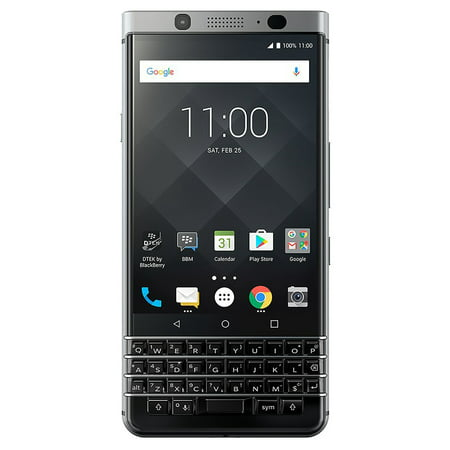BlackBerry KEYone BBB100-7 64GB Unlocked GSM Dual-SIM Phone w/ 12MP Camera - Black ()