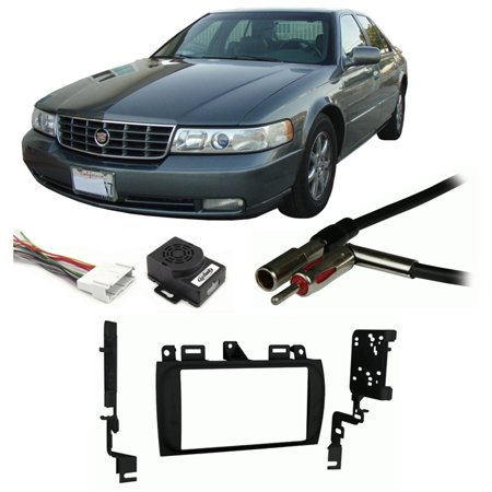 Fits Cadillac Seville 96 04 Double Din Stereo Harness Radio Install Dash Kit