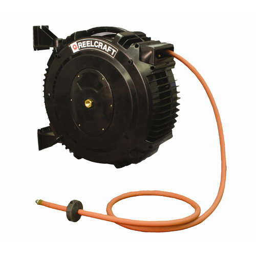 Reelcraft 50-Foot (5/8'') 125 PSI Water Delivery Reel with Hose