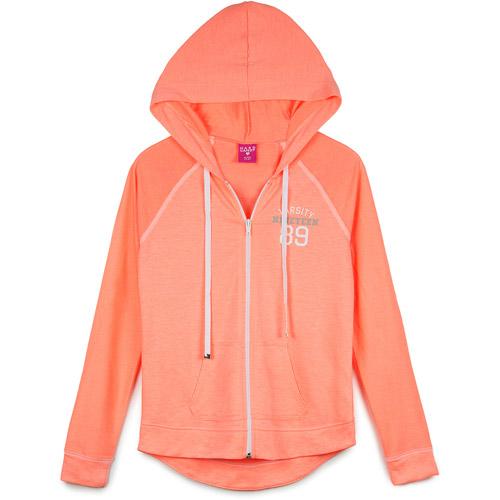 Hard Candy Juniors Raglan Sleeve Hooded Jacket