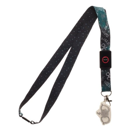Led Lanyards (Harry Potter Spells White Light Up LED Lanyard with Charm and ID)