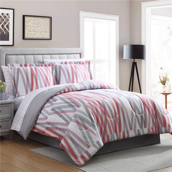 Bixby Printed Bed In A Bag Comforter Set Queen Walmart Com