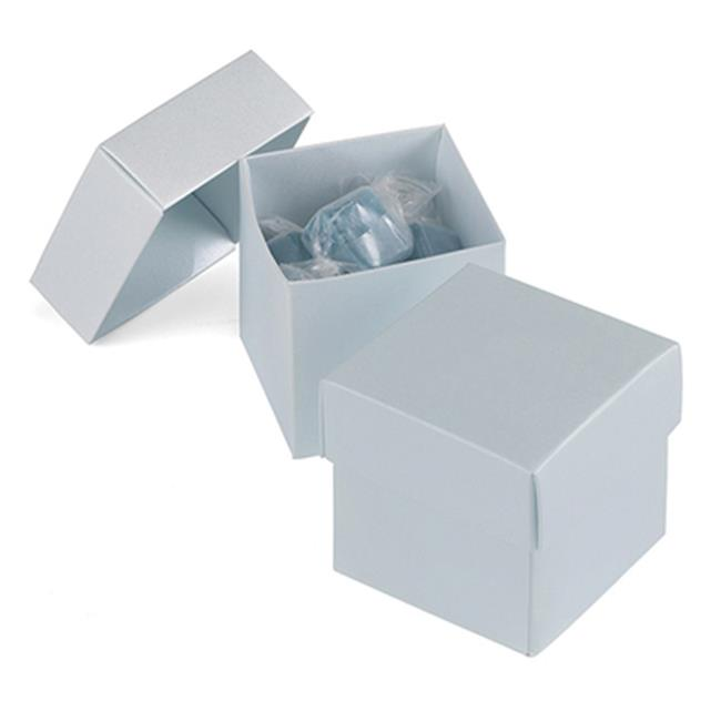 Hortense B Hewitt 39403P Personalized 2 Piece Favor Box - Diamond Blue