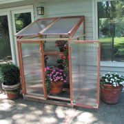 Sunshine 4 x 3-Foot Lean-To Patio Greenhouse