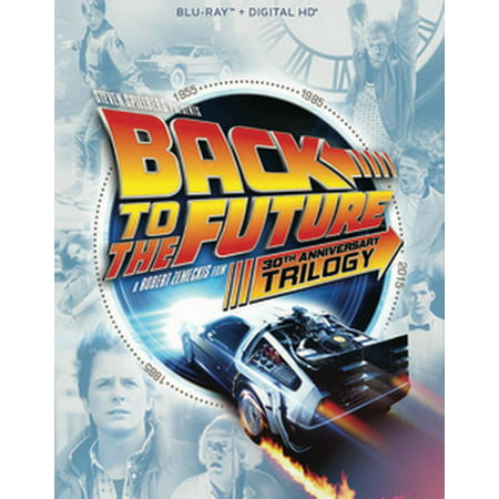 Back to the Future: The Complete Trilogy (30th Anniversary Edition) (Blu-ray + Digital HD) - Future Halloween Dates