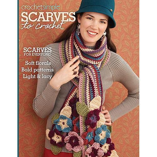 Soho Publishing Scarves to Crochet Book