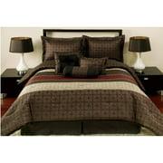 Mainstays 7 Piece Comforter Set, Medici