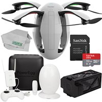 PowerVision PowerEgg Drone with 360 Panoramic 4K HD Camera and 3-axis Gimbal with Maestro Starters Bundle