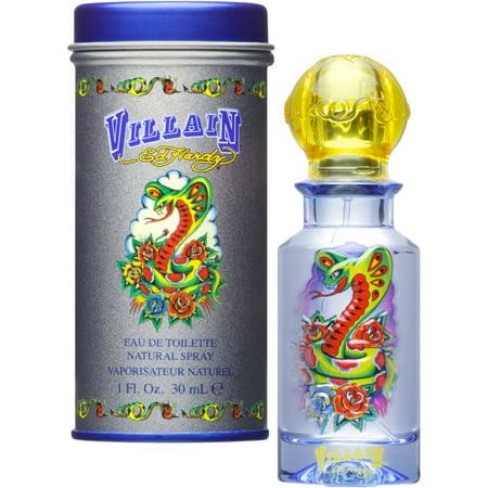 Ed Hardy Villain Eau de Toilette Spray for Men, 1 fl oz