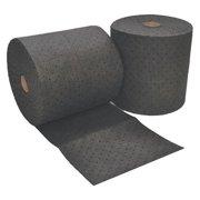 SUSTAYN BY SPILFYTER USR-98 Absrbnt Roll,Blk,34gal,150ftLx16inW,PK2 G0044375