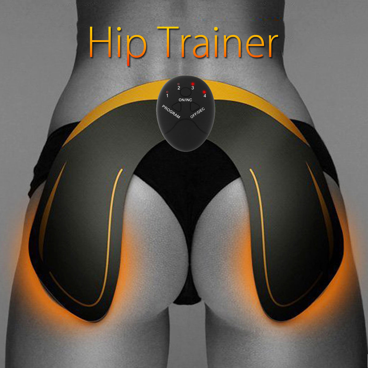 Hip Trainer,Training Pad,Smart Hip Trainer Buttocks Lifter Enhancer Pad Fitness Gear Training Massager Pad