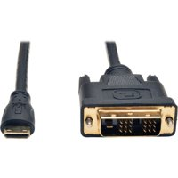Tripp Lite Mini HDMI to DVI Digital Monitor Adapter Cable M/M 6' 6ft P566006MINI